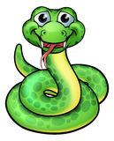 Friendly Cartoon Snake Stock Images