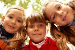 Friendly children Stock Photo