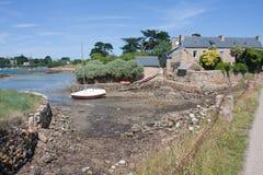 Friendly coast of Ile de Brehet, France Royalty Free Stock Image