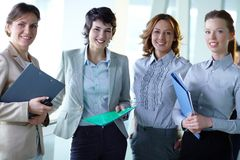 Friendly colleagues Royalty Free Stock Photography