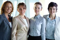 Friendly colleagues Royalty Free Stock Photo