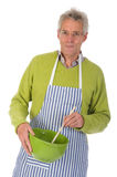 Friendly cook Stock Image