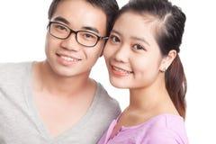 Friendly couple Royalty Free Stock Photos