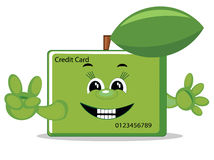Friendly credit card Royalty Free Stock Images