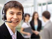 Friendly customer service Stock Photos