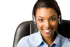 Friendly Customer Service Royalty Free Stock Images