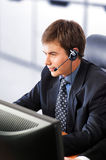 Friendly customer service representative Stock Images