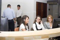 Friendly Customer Support team Stock Photos