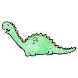 friendly dinosaur cartoon Royalty Free Stock Photos