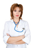 Friendly doctor Royalty Free Stock Photos