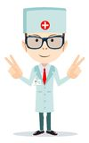 Friendly Doctor - dentist. Vector Royalty Free Stock Photo