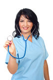 Friendly  doctor  female Royalty Free Stock Photo