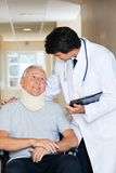 Friendly Doctor With Patient Royalty Free Stock Photo