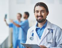 Friendly doctor Royalty Free Stock Photo