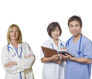 Friendly Doctor team Stock Images