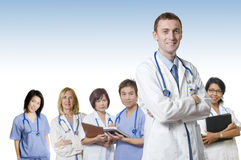 Friendly Doctor team Stock Photos