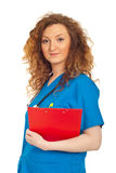 Friendly doctor woman Stock Photography