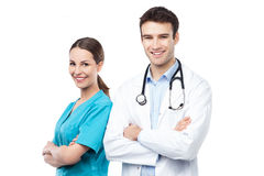 Friendly doctors Stock Photography