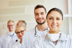 Friendly doctors as team Royalty Free Stock Images