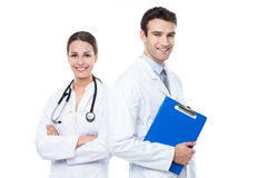 Friendly doctors Stock Photo