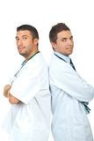 Friendly doctors team Stock Image