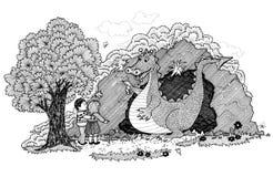 Friendly Dragon Stock Photos