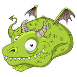 Friendly Dragon Royalty Free Stock Photo
