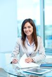 Friendly employer Royalty Free Stock Photo