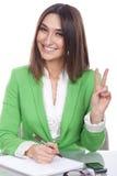 Friendly executive secretary Royalty Free Stock Images