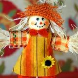 Friendly Fall Scarecrow Royalty Free Stock Photos
