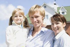 Friendly family Stock Image