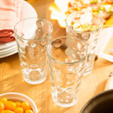 Friendly family dinner party preparation Stock Images