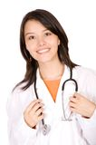 Friendly female doctor Stock Photography