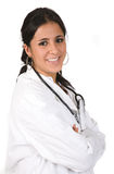 Friendly female doctor Royalty Free Stock Photos