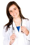 Friendly female doctor Royalty Free Stock Images
