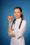 Friendly female doctor Royalty Free Stock Image