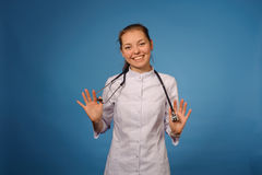 Friendly female doctor Royalty Free Stock Photo