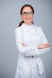 Friendly female doctor Stock Photos