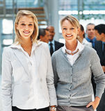 Friendly female executives Royalty Free Stock Images