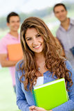Friendly female student Stock Photos