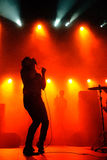 Friendly Fires band performs at Razzmatazz Stock Photography