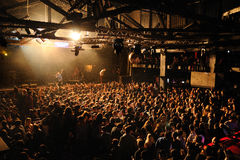 Friendly Fires band performs at Razzmatazz Royalty Free Stock Image