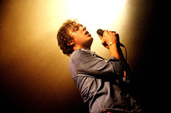 Friendly Fires band performs at Razzmatazz Stock Photo