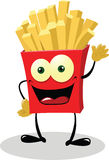 Friendly French Fries Stock Image
