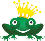 Friendly frog Royalty Free Stock Image