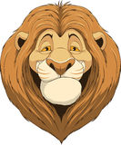 Friendly funny lion Royalty Free Stock Image