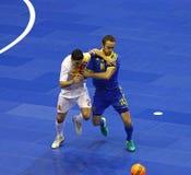 Friendly Futsal: Ukraine v Spain in Kiev, Ukraine Stock Photography