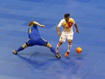 Friendly Futsal: Ukraine v Spain in Kiev, Ukraine Stock Photo