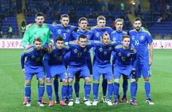Friendly game Ukraine v Serbia in Kharkiv Royalty Free Stock Photography