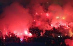 Friendly game Ukraine v Serbia in Kharkiv Stock Photos